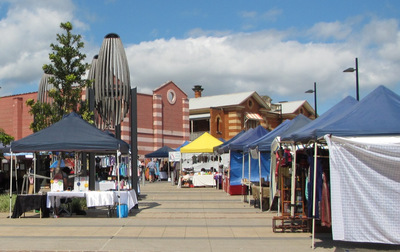 Boggo Road Markets photo by West End Girl