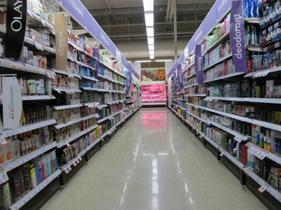 All aisles can lead to the meet