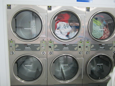 At a laundromat your smalls can lead to big things