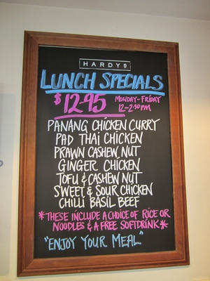 Lunch Specials @ The Directors