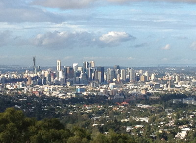 Brisbane from Mt Coot-tha Lookout