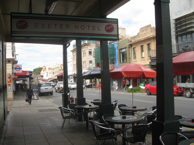Outside Seating at The Exeter
