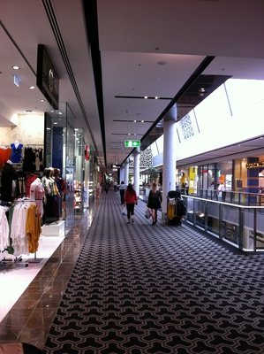 one of the new sections at Westfield Carindale