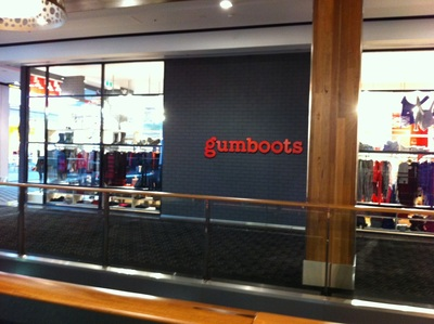 Gumboot, one of the new children's stores at Westfield Carindale