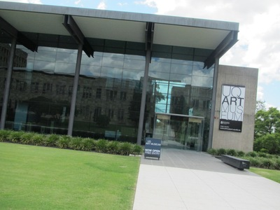 uq art museum photo by michelle macfarlane