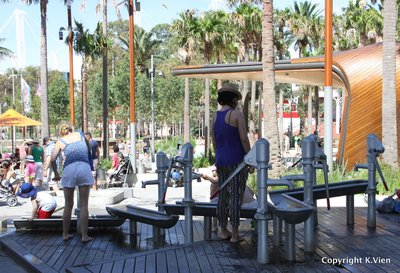 Darling Quarter Playground Water Pumps