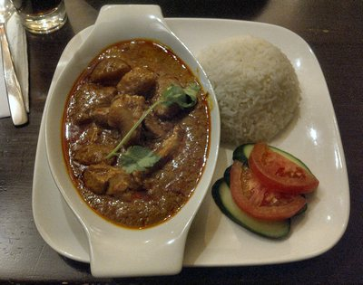 Malaysian Curry with Rice
