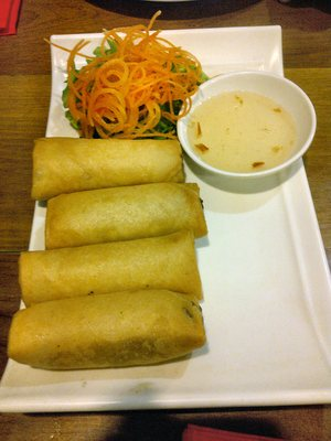 Spring Rolls w/ Dipping Sauce