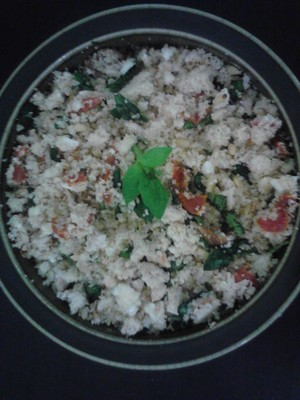 Chicken, Basil and Sundried Tomatos CousCous