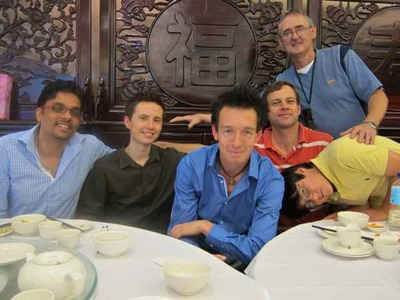 Friends at Yum Cha