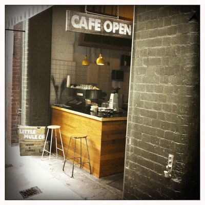 Cafe Entry