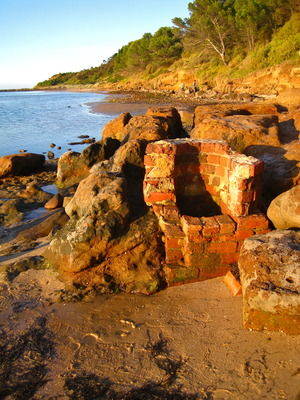 Remains of Mineral Water well at Clifton Springs (c) JP Mundy
