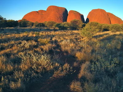 Sunset over Kata Tjuta (c) JP Mundy