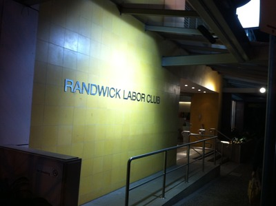 Conveniently located, Randwick Labor Club is on Alison Road