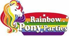 Courtesy of Rainbow Pony Parties website