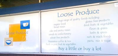 Loose Produce store