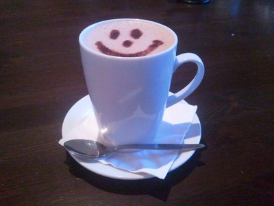 Hot Chocolate at Eggless