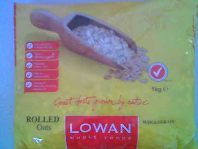 Lowan Whole Foods rolled oats