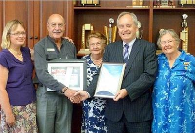 Melville Bridge Club Awards from web page