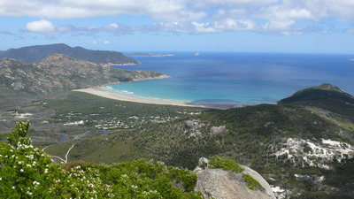 View from Mt Bishop, Wilson's Prom by Ross Chapman