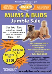 Mums And Bubs Jumble Sale
