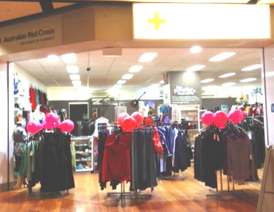 Red Cross Fortitude Valley Store