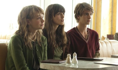 L to R: Carey Mulligan, Keira Knightley and Andrew Garfield in NEVER LET ME GO; Photo by Alex Bailey