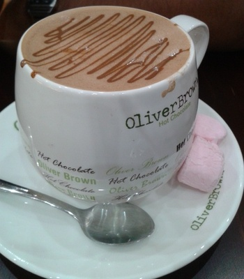 Oliver Brown Dark Hot Chocolate