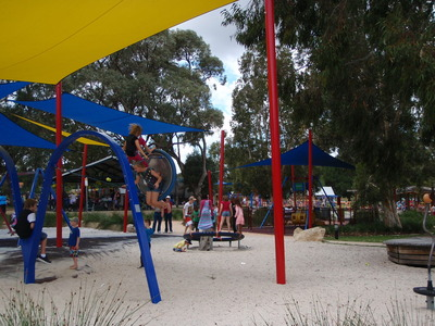 Opportunity Playspace in Rotary Park, Wanneroo