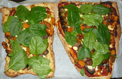 My Afghan Bread Pizza