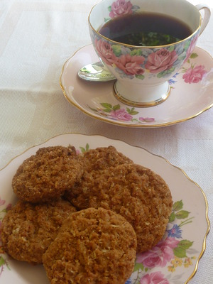 ANZAC Biscuits and a cuppa