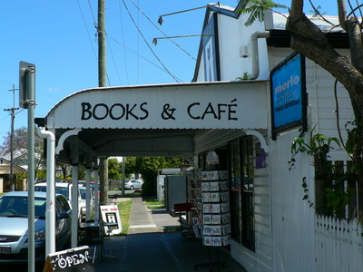 black cat books and cafe brisbane. Black Bedroom Furniture Sets. Home Design Ideas