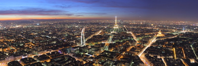 Paris Night by Benh Lieu Song