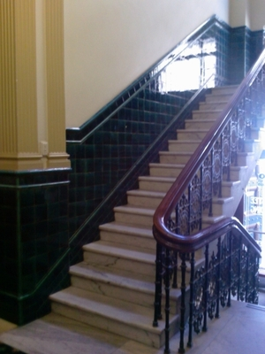 Trustee Building stairs