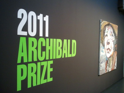 The 2011 Archibald Prize at Casula
