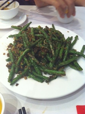 Stir Fried Green Beans with Pork Mince