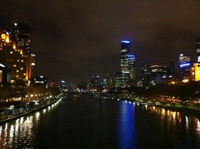 City views from Southbank