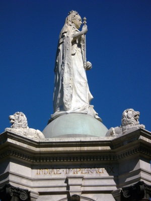 Queen Vic Monument