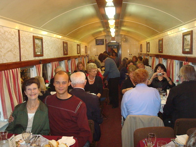 The Etmilyn train dining car