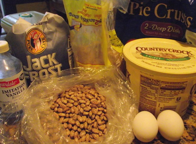 Pinto bean pie Ingredients