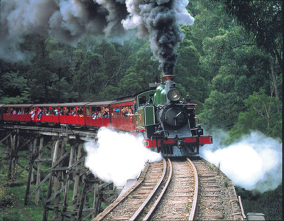 Image Courtesy of Friends of Puffing Billy Railway