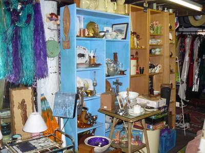 Bric a brac at Retro Metro Clearance Outlet