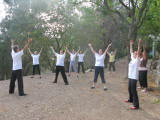 Qi Gong class courtesy of Renacent College