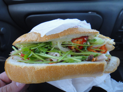 Traditionally A Pork Roll Will Be Served In Crunchy Vietnamese Bread The Kind That Shatters As You Bite Into It Showering You In A Crusty Snow