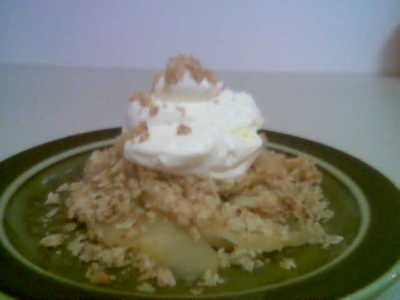 Homestyle Apple Crumble