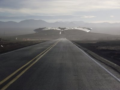 Spaceport America, also known as