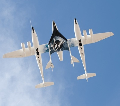 Virgin Galactic, the world's first commercial spaceline.