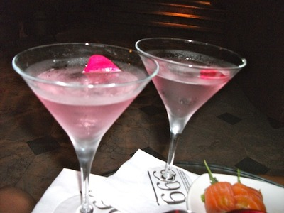 Spice Market's Turkish Delight Martini
