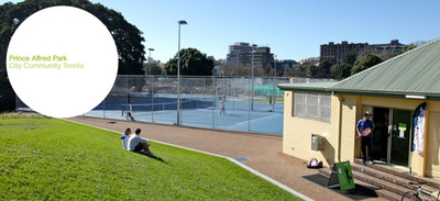 Prince Alfred Park Tennis Courts, Surry Hills