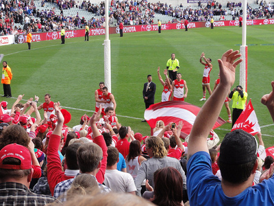 Sydney Swans in action